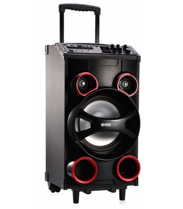 Overnis Trolley Speaker Red Qd Global International S L